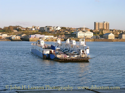Torpoint Ferry, Torpoint, Cornwall - February 15, 2005