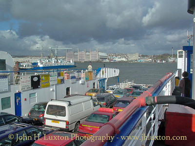 Torpoint Ferry, Torpoint, Cornwall - April 07, 2004