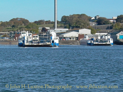 Torpoint Ferry, Torpoint, Cornwall - October 27, 2003
