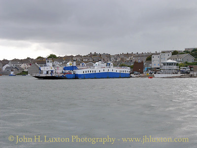 Torpoint Ferry, Torpoint, Cornwall - August 29, 2004