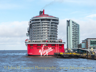 Virgin Voyages - SCARLET LADY - Liverpool Cruise Terminal - February 25, 2020