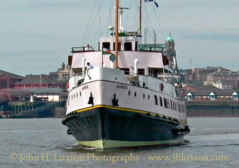 MV BALMORAL arrives at Liverpool - June 06, 2004
