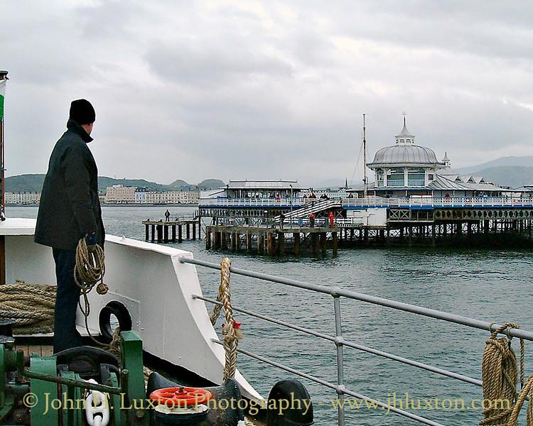 MV BALMORAL, Llandudno Pier, May 20, 2000
