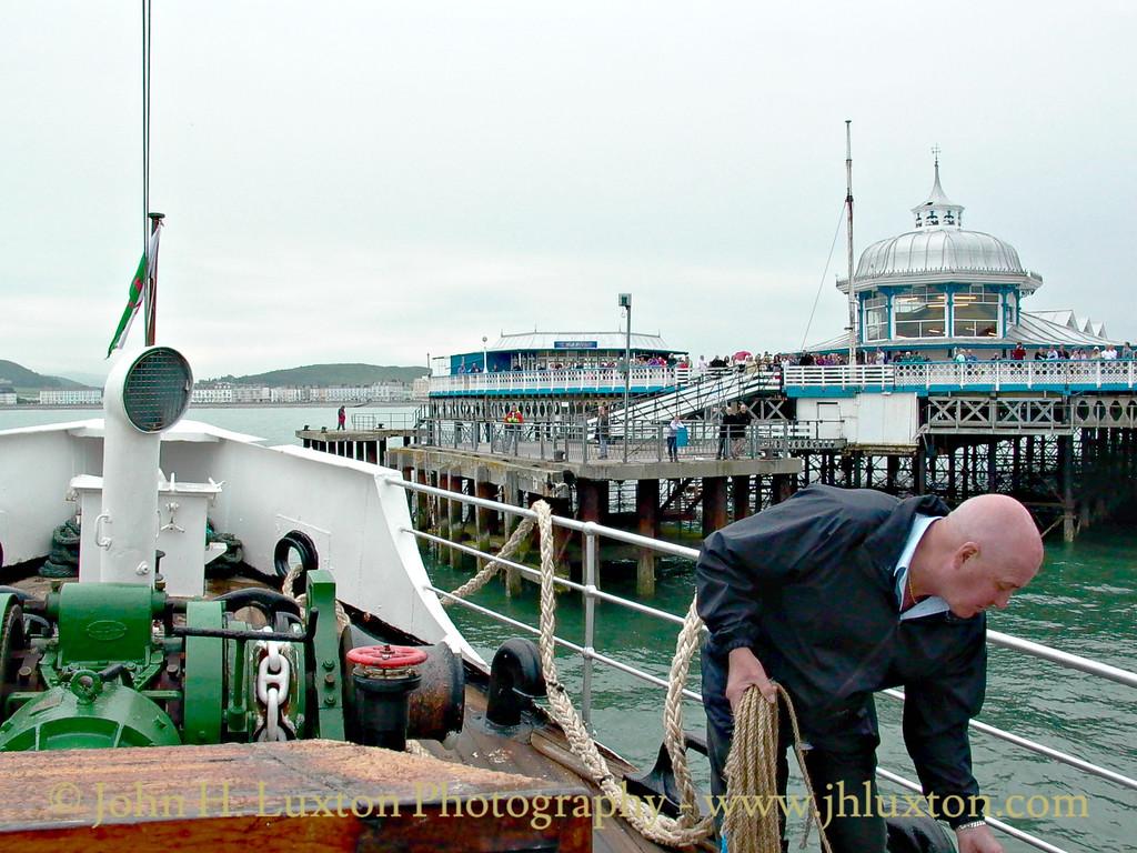 MV BALMORAL, Llandudno, June 21, 2003