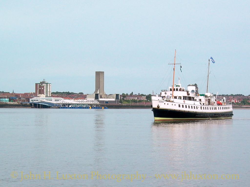 MV BALMORAL, Liverpool, June 21, 2003