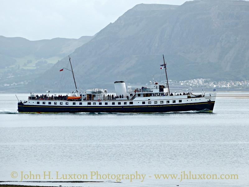 MV BALMORAL - Menai Strait, Anglesey, September 10, 2016