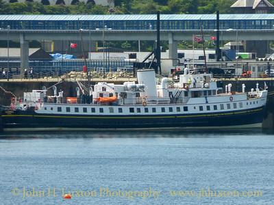 MV BALMORAL, Victoria Pier, Douglas Harbour - June 27, 2015