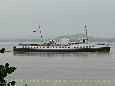 MV BALMORAL, Beachley Point - May 29, 2017