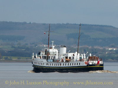 MV BALMORAL, Beachley Point - April 13, 2015
