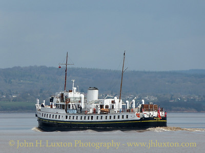 MV BALMORAL, Beachley Point - April 13, 2015