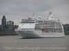 SEVEN SEAS VOYAGER of Regent Seven Seas Cruises becomes the first cruise ship to berth at the new Liverpool City Cruise Terminal on September 09, 2007