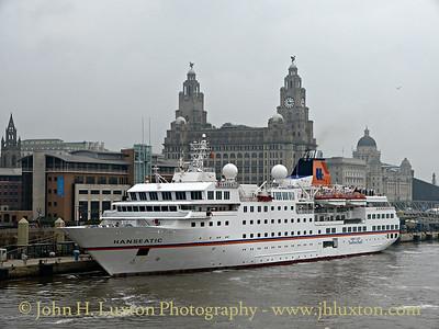 Hapag Lloyd Hanseatic at Liverpool Cruise Terminal - September 20, 2014