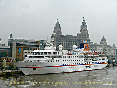 Hapag Lloyd Hanseatic at Liverpool Cruise Terminal - September 20, 2014