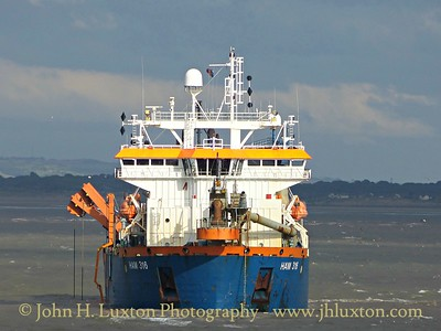 HAM 316 at work in Queen's Channel - September 12, 2015