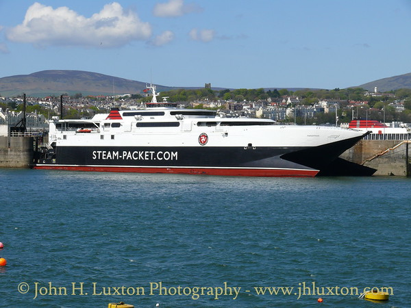 MANANNAN at Douglas Harbour - May 08, 2010 prior to working the 15:30 to Liverpool
