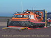 RNLI Hovercraft MOLLY RAYNER undergoing trials at New Brighton - February 15, 2004.