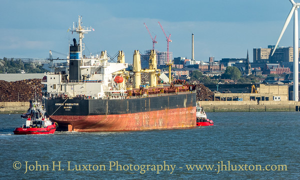 GENCO PREDATOR on the River Mersey - September 07, 2019