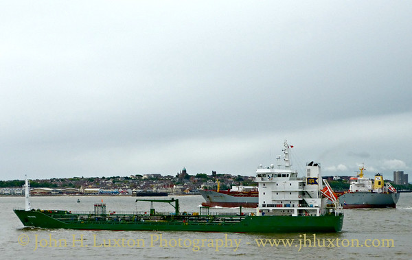 Mersey and Liverpool Bay Shipping - May 21, 2016