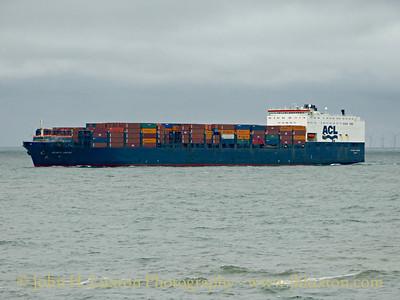 Mersey and Liverpool Bay Shipping - May 09, 2015