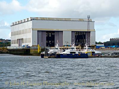 P&O Offshore Windfarm Support Vessel SCIROCCO - October 04, 2014