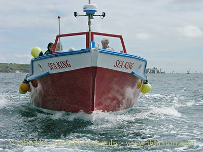 Isles of Scilly Passenger Launch SEAKING following the Round St. Mary's Yacht Race, July 31, 2005