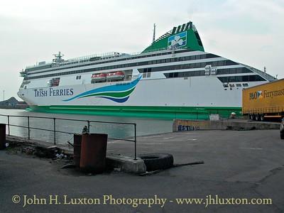 Irish Ferries Ulysses - Gladstone Dock, Liverpool - February 25, 2003