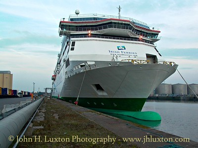 Irish Ferries Ulysses - Gladstone Dock, Liverpool - February 25, 2003