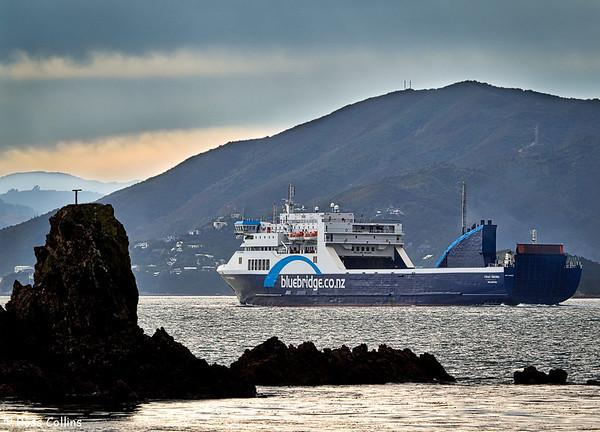 'Strait Feronia' Inaugural Arrival 2015