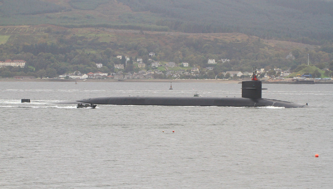 SSBN-734 USS TENNESSEE