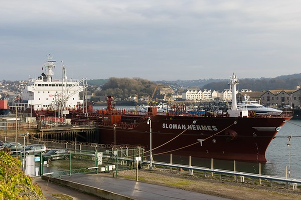 SLOMAN HERMES IMO: 9466738 11,298gt @ Cattewatter Wharves, Plymouth 05.12.16