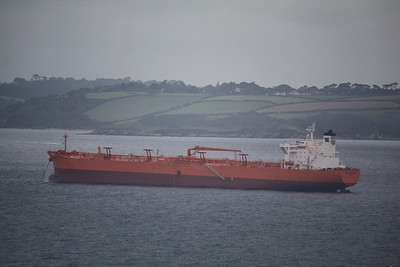 SPT NAVIGATOR IMO:9313498 57657gt - Anchored off Falmouth 31.08.09