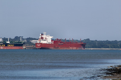 CLIPPER MOON IMO:9253820 44822gt @ Fawley Oil Terminal 10.07.13