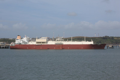 TEMBEK IMO:9337731 136410gt @ Milford Haven 18.05.11
