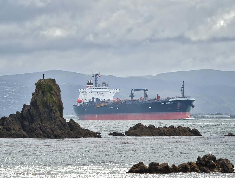 'Challenge Peak' departing from Wellington, 13 October 2020
