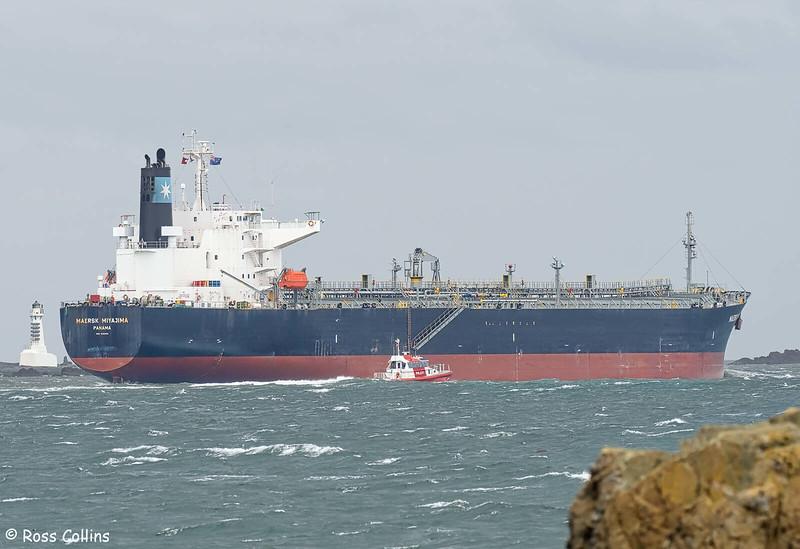 'Maersk Miyajima' departing from Wellington, 30 November 2020