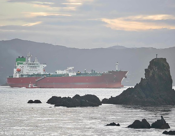 'Morning Glory' departing from Wellington, 29 July 2020