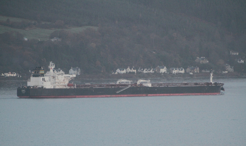 KAMARI, Flag: Greece, 83,545 GRT, River Clyde November 2013
