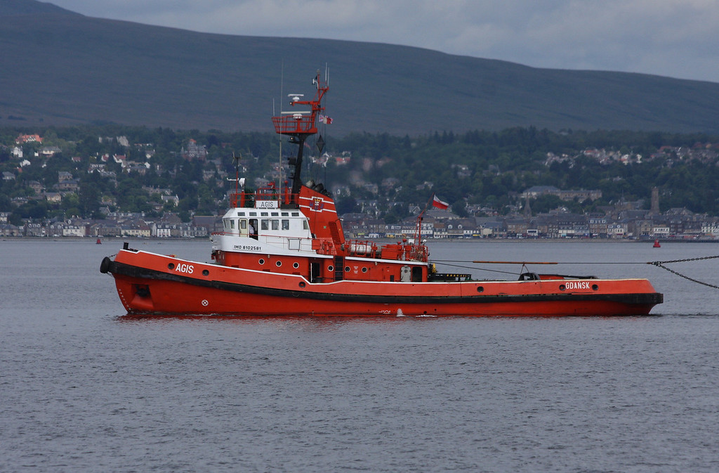 AGIS, Flag: Poland, 330 GRT, River Clyde July 2012