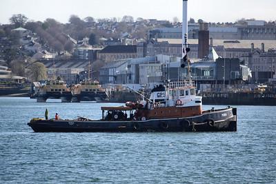 MURIA @ HMNB Devonport, Plymouth 01.04.12