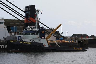 DUTCH POWER @ Milbay Docks, Plymouth 24.04.12
