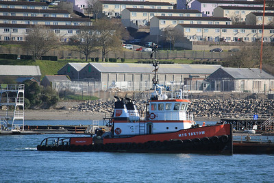 MTS TAKTOW IMO: 8133827 100gt @ HMNB Devonport, Plymouth 01.04.12