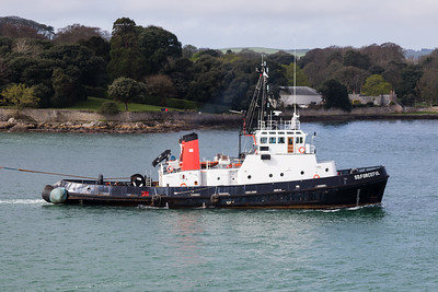 SD FORCEFUL IMO: 8401468 384gt @ Plymouth 03.04.17
