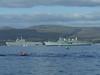 HMS Ark Royal (R07) & Tonnerre (L9014)