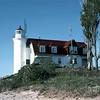 SHIP1982060055 - Lighthouse, Frankfort, MI, 6-1982