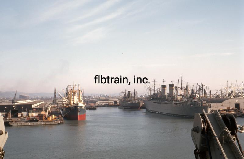 SHIP1966120103 - Ships, Oakland, CA, 12-1966