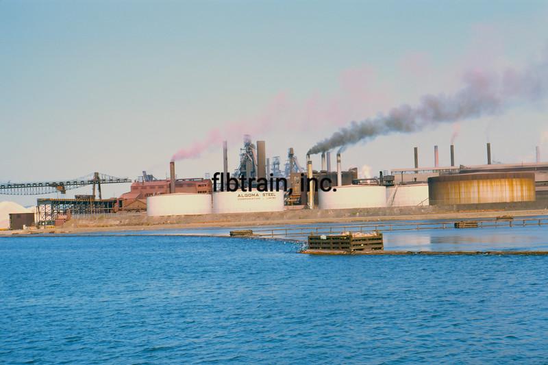 SHIP1969070032 - Steel Mill, Sault Ste. Marie, Canada, 7-1969