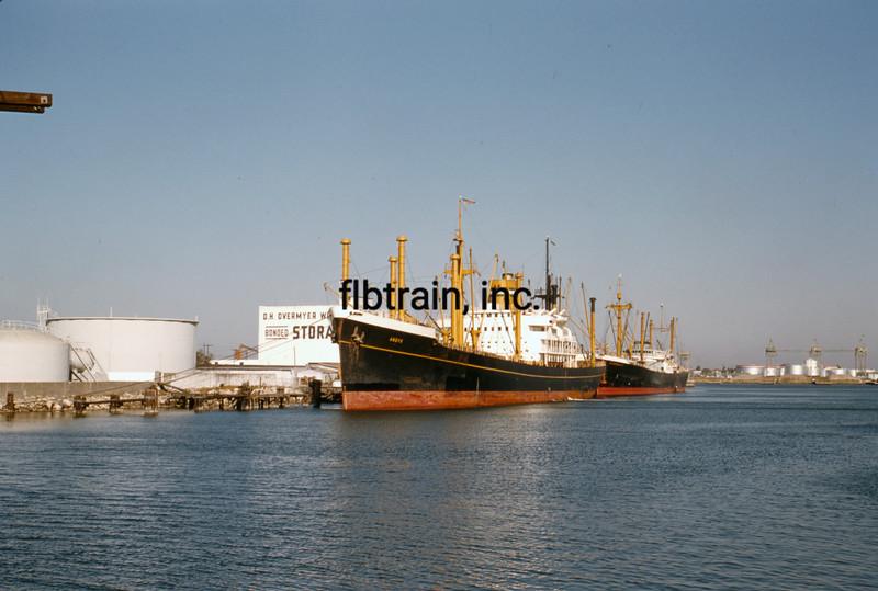 SHIP1956060008 - Freighter, Tampa, FL, 6-1956