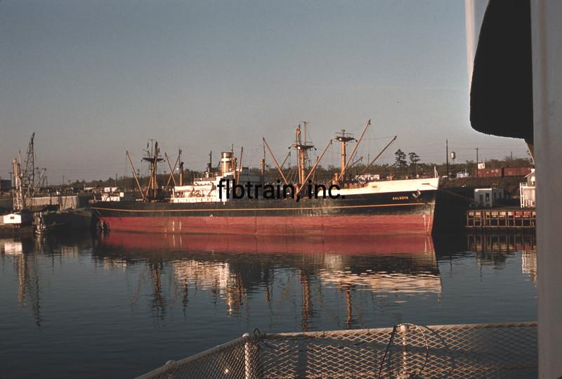 SHIP1956040035 - Ship, Port of Houston, TX, 4-1956