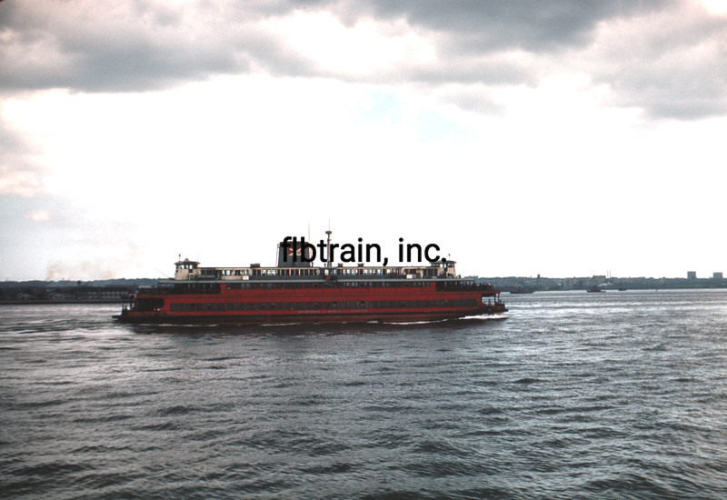 SHIP1952090077 - Ferry, New York, NY, 9-1952