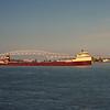 SHIP1981100004 - Ore Ship, Port Huron, MI, 10-1981